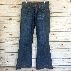 Chip & Pepper Dark Wash Ultra Flared Leg Jeans